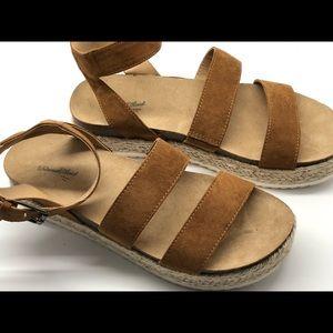 Universal Thread Shoes - Universal thread Agnes platform espadrilles 9